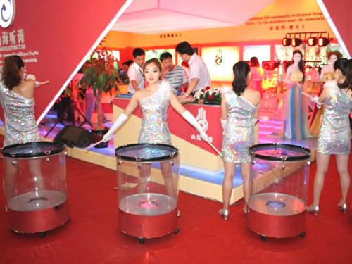 庆典演艺——水鼓舞蹈:葫芦岛鹏达礼仪中心 - 葫芦岛